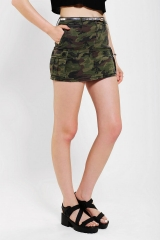 Camo cargo skirt by Tripp NYC at Urban Outfitters