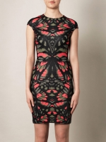 Camo print dress by Alexander Mcqueen at Matches