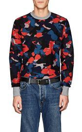 Camouflage Cotton Terry Sweatshirt at Barneys