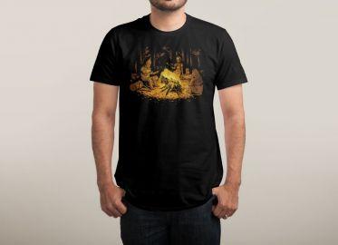Campfire Tshirt at Threadless