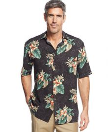 Campia Moda Large Floral Print Shirt at Macys