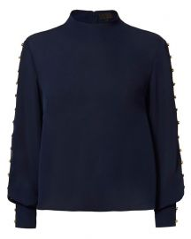 Candice button blouse at Intermix