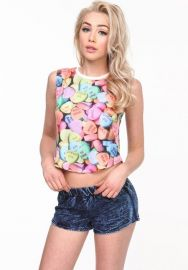 Candy Hearts Top at Love Culture