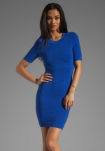 Candy dress in Cobalt by Ronny Kobo at Revolve