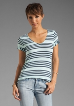 Capri striped tee by Splendid at Revolve