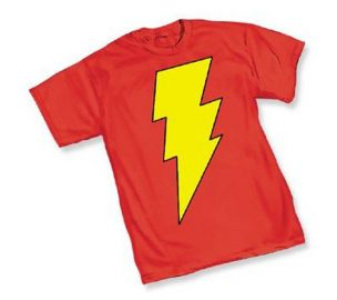 Captain Marval Shazam tee at Amazon