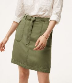 Cargo Skirt at Loft