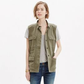 Cargo Vest at Madewell