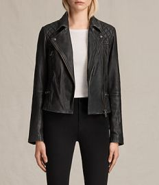 Cargo biker jacket at All Saints
