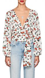 Carla Floral Blouse by A.L.C. at Barneys Warehouse