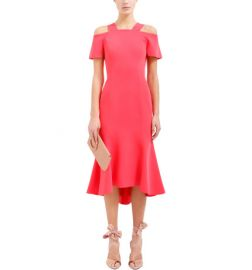 Carmen Dress with Sleeve by Ginger & Smart at David Jones