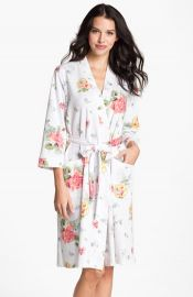 Carole Hochman Designs Floral Print Robe at Nordstrom
