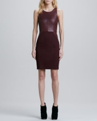 Carolina Leather Ponte dress by Sachin and Babi at Neiman Marcus