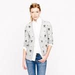 Carries bow sweater at J Crew at J. Crew