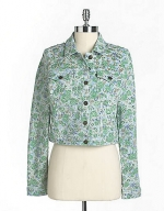 Carrie's denim jacket at Lord and Taylor at Lord & Taylor