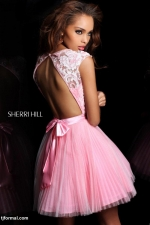 Carrie's pink tutu dress at Tjformal
