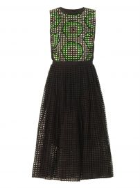 Carven Broderie Anglasie Kiwiprint Dress at Matches