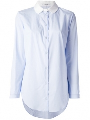 Carven Contrast Collar Shirt - The Webster at Farfetch