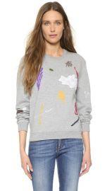 Carven Long Sleeve Sweatshirt at Shopbop