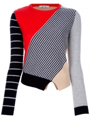 Carven Multi Patterned Sweater - at Farfetch