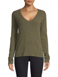 Cashmere V-Neck Sweater at Saks Fifth Avenue