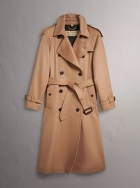 Cashmere Trench Coat by Burberry at Burberry