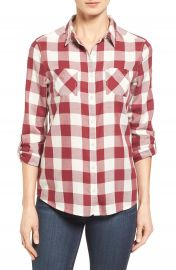 Caslon   Long Sleeve Shirt  Regular   Petite at Nordstrom
