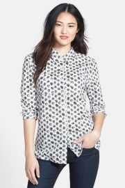 Caslon cotton blouse at Nordstrom Rack