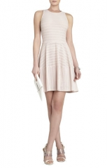 Cassandra Dress in Dusty Pink by Bcbg at Bcbg