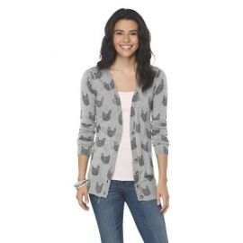 Cat Print Cardigan at Target