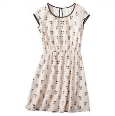 Cat print dress at Target