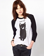 Cat tshirt at ASOS at Asos