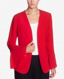 Catherine Catherine Malandrino Bell-Sleeve Open Blazer at Macys