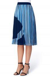 Catherine Catherine Malandrino Francis Pleat A-Line Skirt at Nordstrom
