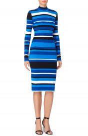 Catherine Malandrino Kristiana Stripe Body-Con Dress at Nordstrom