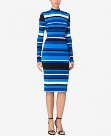 Catherine Malandrino Striped Bodycon Dress at Macys
