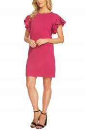 CeCe Ruffle Sleeve Sweater Dress at Nordstrom