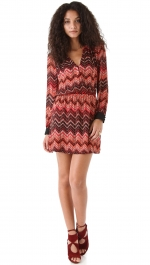 Cece's Parker zig zag dress at Shopbop