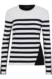 Cecilee Stripe Merino Wool Blend Pullover by Rag & Bone at The Outnet