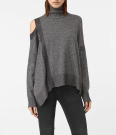 Cecily Twist Sweater at All Saints