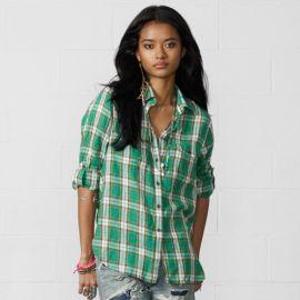 Cedar Plaid Utility Shirt at Ralph Lauren