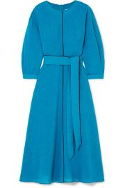 Cefinn - Isabel belted voile midi dress at Net A Porter