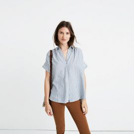 Central Shirt in Chambray Stripe at Madewell