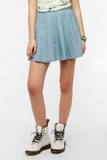 Chambray circle skirt by Kimchi blue at Urban Outfitters