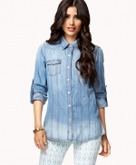Chambray shirt at Forever 21 at Forever 21