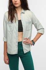 Chambray shirt at Urban Outfitters at Urban Outfitters