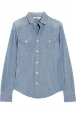 Chambray shirt by See by Chloe at Net A Porter