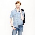 Chambray shirt from J crew at J. Crew