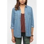 Chambray shirt from Urban Outfitters at Urban Outfitters