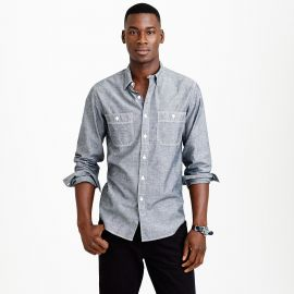 Chambray utility shirt at J. Crew